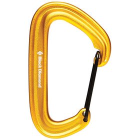 Black Diamond Litewire Mosquetón, yellow